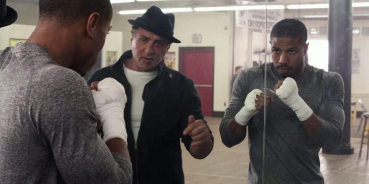 Creed (Michael B. Jordan and Sylvester Stallone)