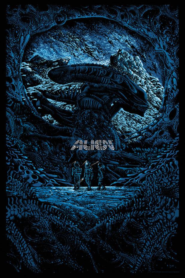 Alien poster (Kilian Eng)