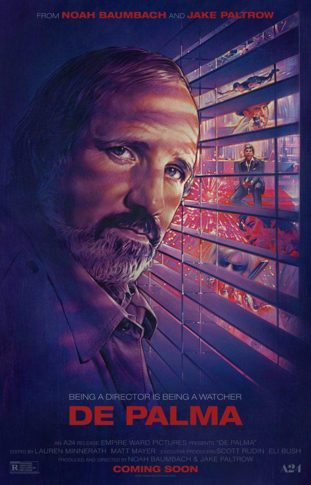 De Palma poster (BLT Communications)