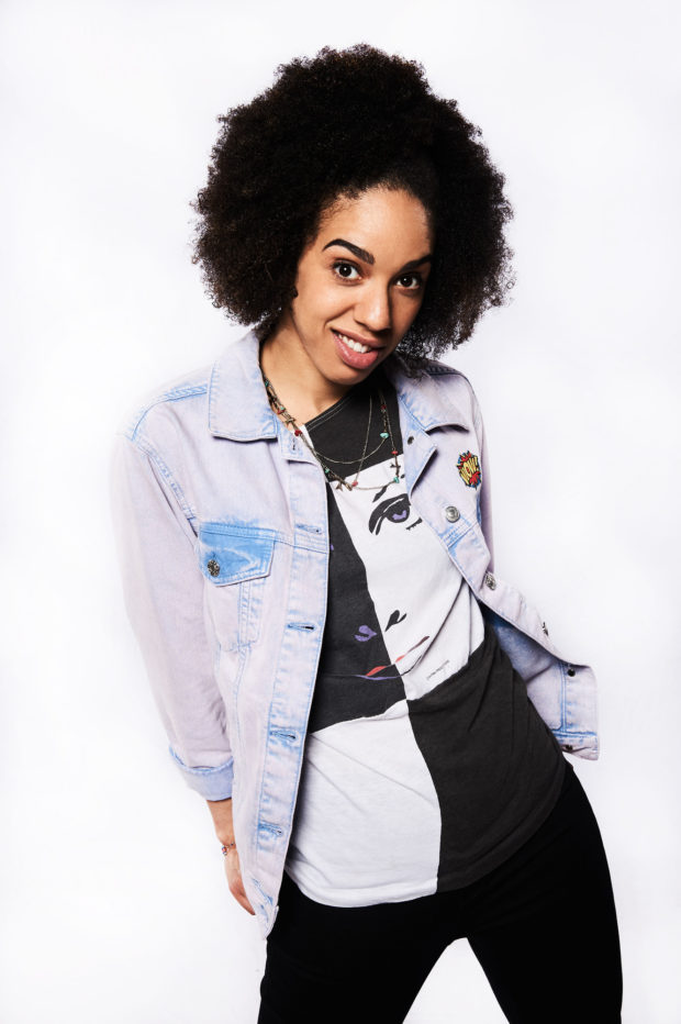 Programme Name: Doctor Who S10 - TX: 23/04/2016 - Episode: n/a (No. n/a) - Picture Shows: MEET PEARL MACKIE - THE DOCTOR'S NEW COMPANION Pearl Mackie - (C) BBC - Photographer: Ray Burmiston