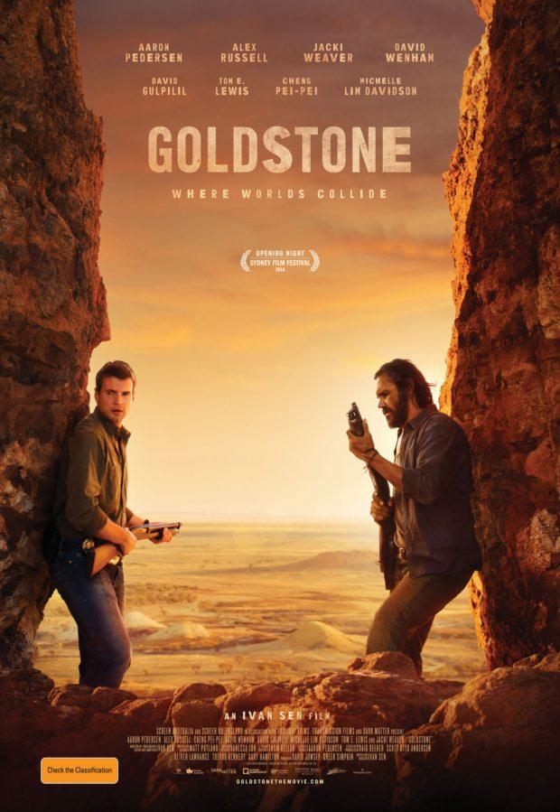 Goldstone poster (Australia) - Designer: Carnival Studios