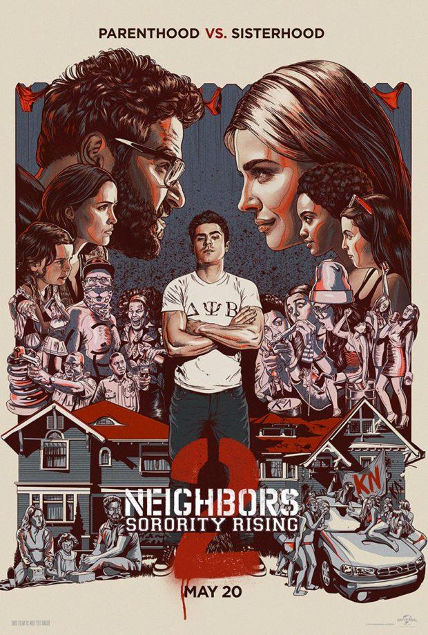 Neighbors 2: Sorority Rising (LA) poster