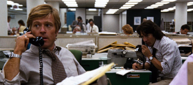 All the Presidents Men - Robert Redford and Dustin Hoffman