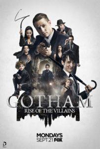 Gotham - Season 2 - Rise of the Villains poster