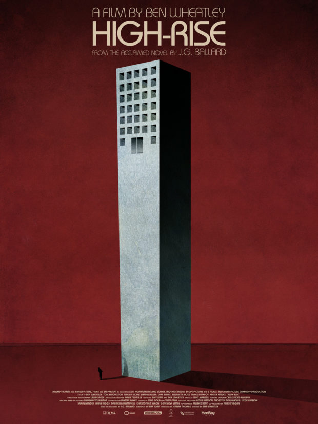High Rise poster - Designer Jay Shaw