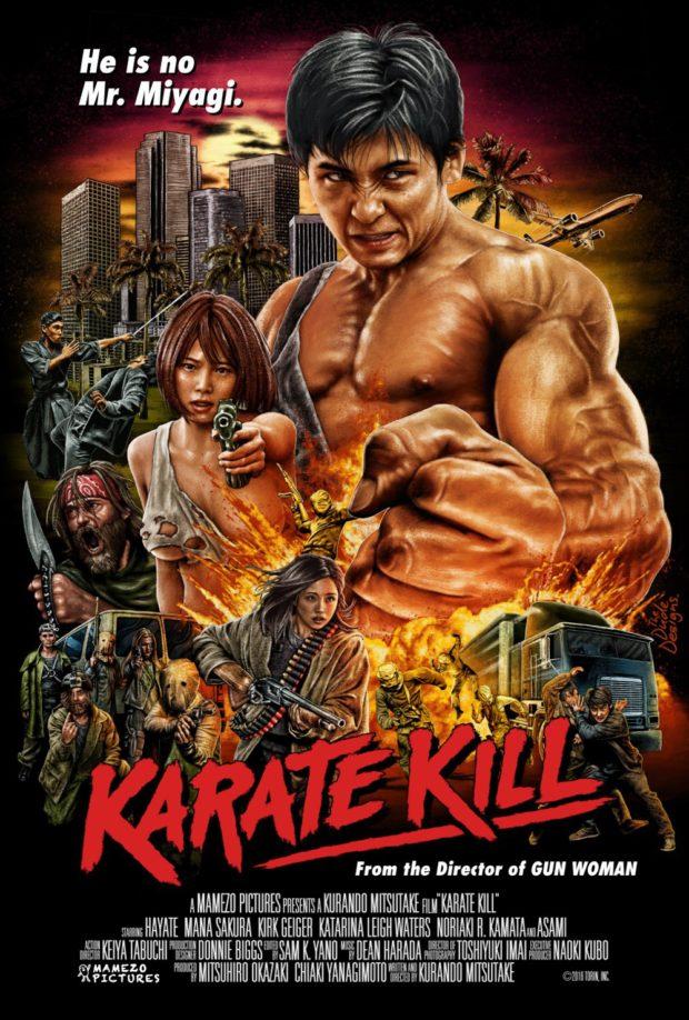 Karate Kill - Designer: Tom Hodge (The Dude Designs)