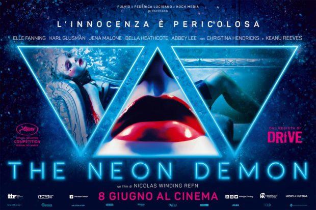 Neon Demon poster - Vertigo Movie Advertising
