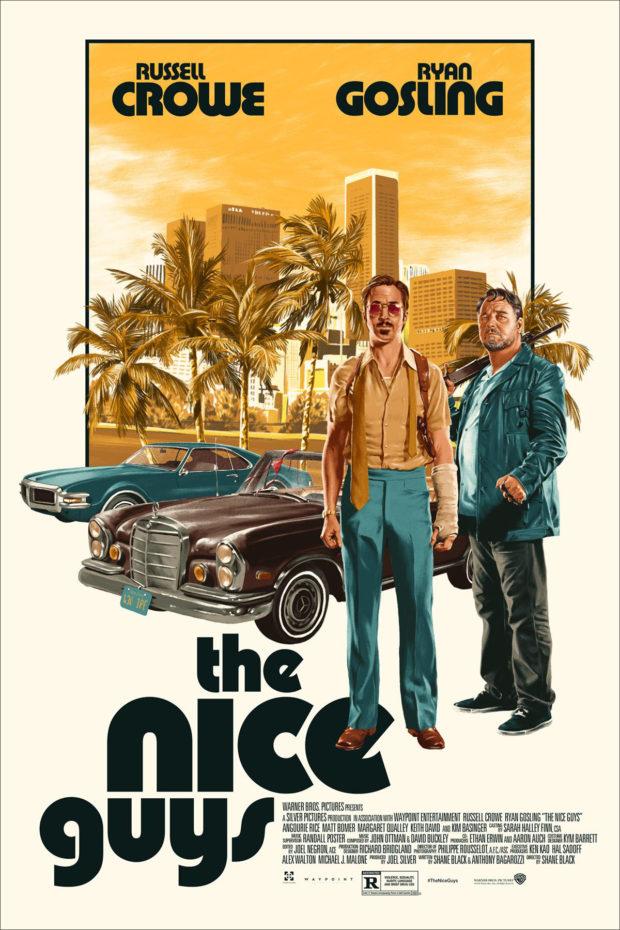 The Nice Guys poster - Matthew Woodson