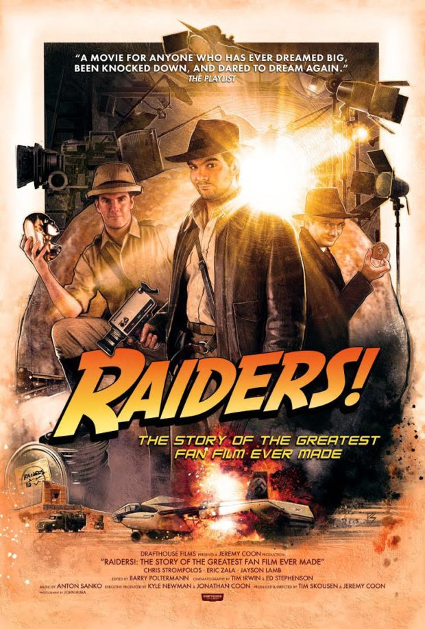 Raiders!: The Story of the Greatest Fan Film Ever Made - Designer: Paul Shipper