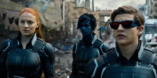 X-Men: Apocalypse - Jean Grey (Sophie Turner), Scott Summers (Tye Sheridan), Nightcrawler (Kodi Smit-McPhee)