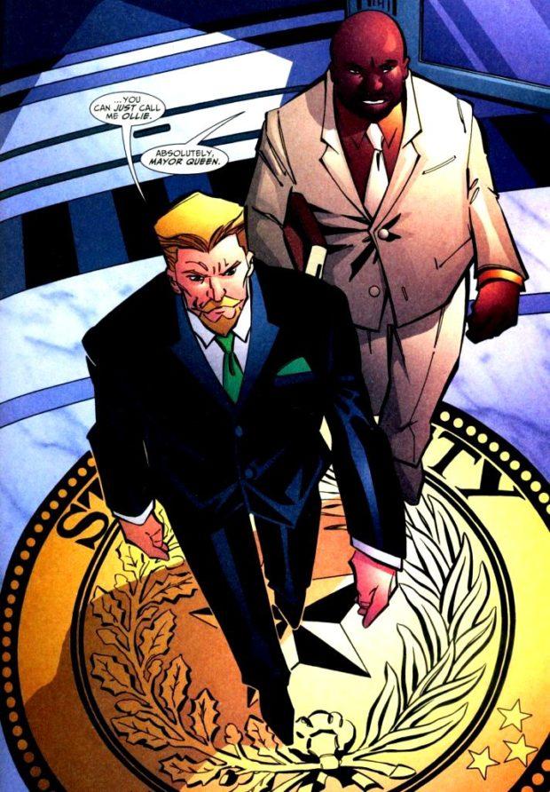 Oliver Queen for Mayor - Green Arrow #60