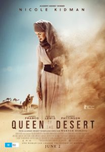 Queen of the Desert - Australian poster