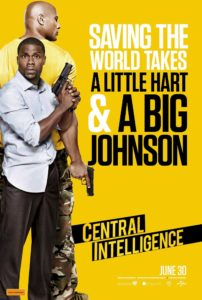 Central Intelligence poster (Australia)