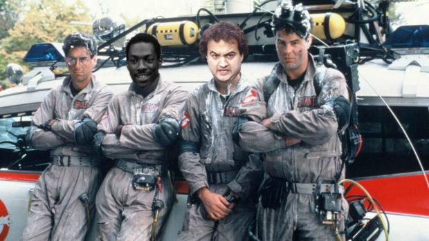 Ghostbusters - Harold Ramis, Eddie Murphy, John Belushi and Dan Aykroyd