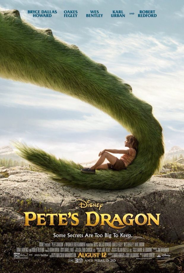 Pete's Dragon poster