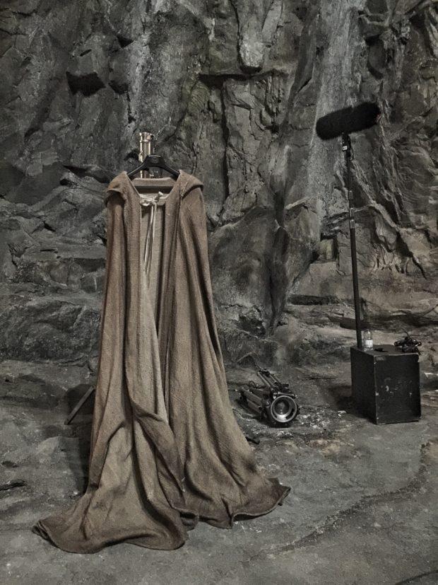Rian Johnson - Jedi Robe - Star Wars Episode VIII