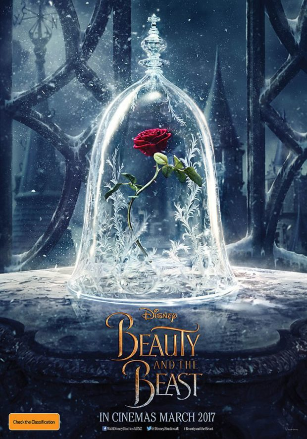 Beauty and the Beast (2017) teaser poster