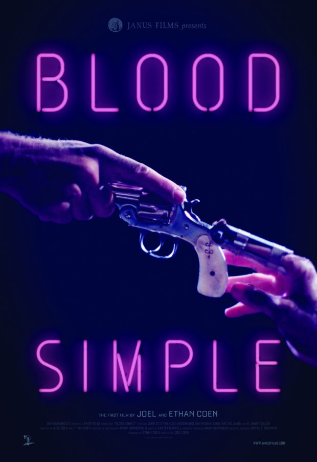 Blood Simple poster - Designer: The Boland Design Company