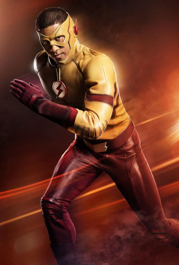 Kid Flash/Wally West (Keiynan Lonsdale) in The Flash Season 3