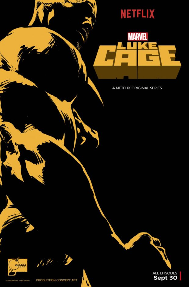 Marvel's Luke Cage - Designer: Joe Quesada