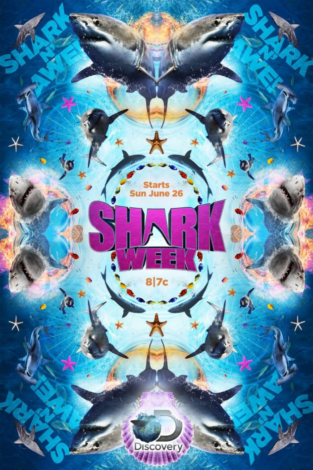 Shark Week poster - Designer: Midnight Oil