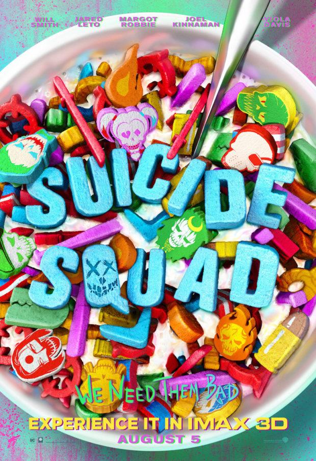 Suicide Squad poster - Designer: Concept Arts