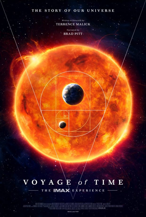Voyage of Time poster - Designer: P+A