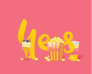 Connect 5 Short Film Competition - Popcorn Optus Yes