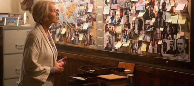 Colonel Katherine Powell (Helen Mirren) in a scene from EYE IN THE SKY, directed by Gavin Hood. In cinemas 24 March 2016. An Entertainment One Films release.