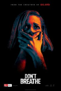 Don't Breathe - Australian poster (Sony Pictures Australia)
