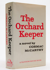 The Orchard Keeper by Cormac McCarthy - First Edition