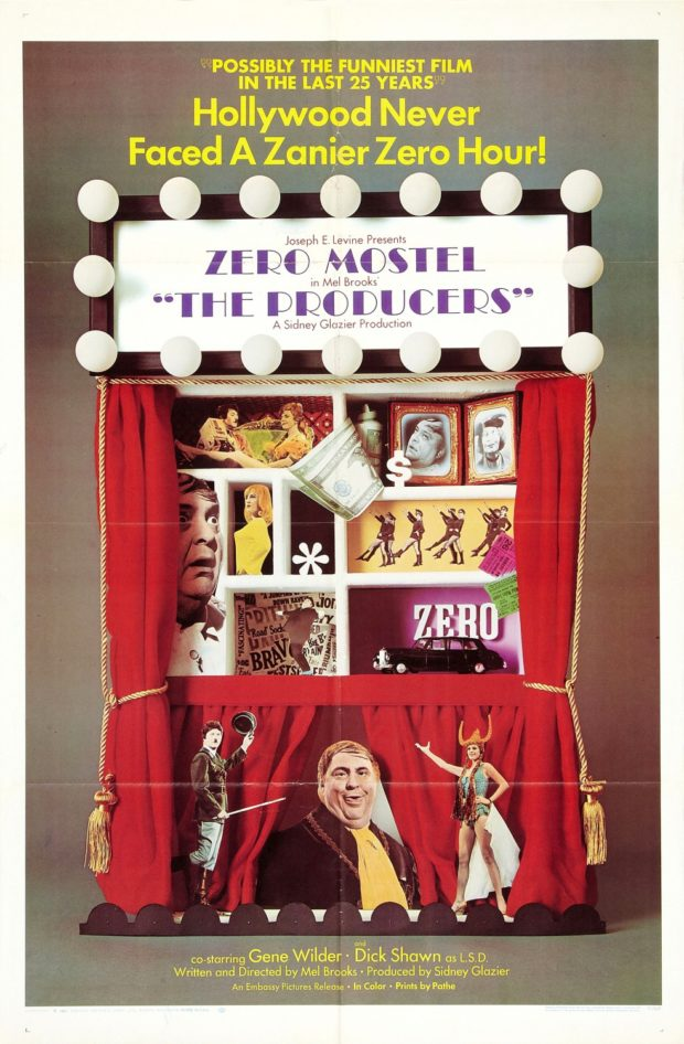 The Producers (1968) poster