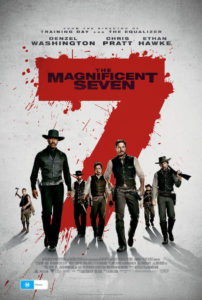 The Magnificent Seven - Australian Poster (Sony Pictures)