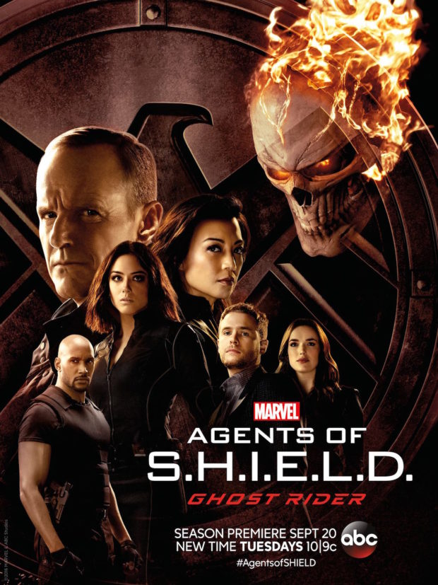 Agents of S.H.I.E.L.D. - Season 4: Ghost Rider poster