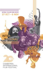 Canberra International Film Festival 2016 - 20th Anniversary poster