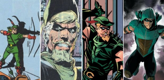 Green Arrow - 75 years montage