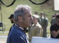 Mel Gibson filming HACKSAW RIDGE
