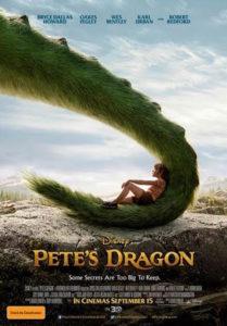 Pete's Dragon - Australian poster (Disney)