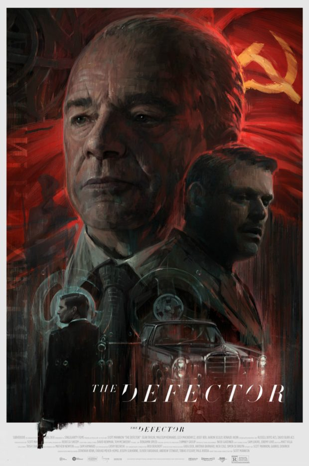 The Defector poster - Jeremy Love