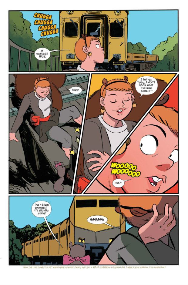 THE UNBEATABLE SQUIRREL GIRL BEATS UP THE MARVEL UNIVERSE OGN