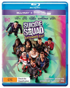 Suicide Squad Extended Edition Blu-ray