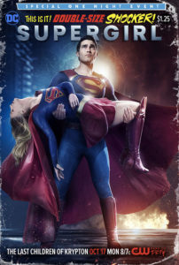 Supergirl Season 2 Episode 2 - The Last Children of Krypton - Crisis on Infinite Earths poster