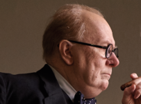 Gary Oldman is Winston Churchill in DARKEST HOUR