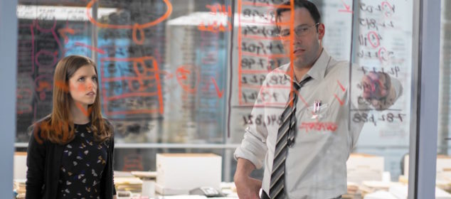 The Accountant - Ben Affleck and Anna Kendrick