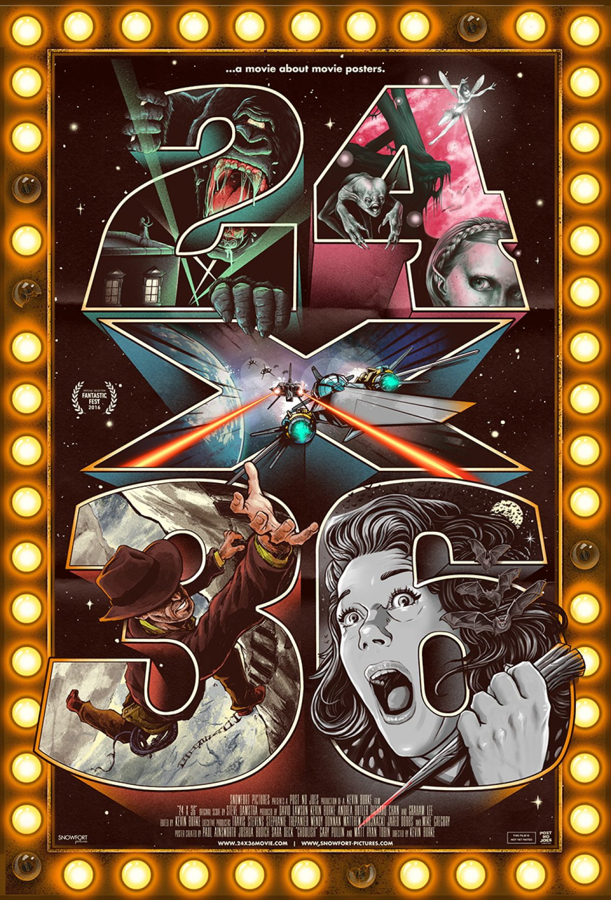 24x36 poster design - 24x36 A Movie About Movie Posters Poster