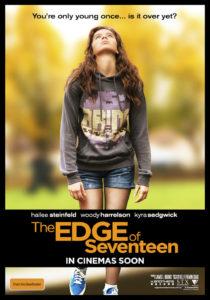 Edge of Seventeen poster (Australia)