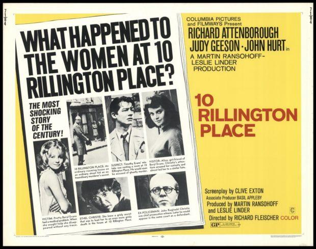 10 Rillington Place poster
