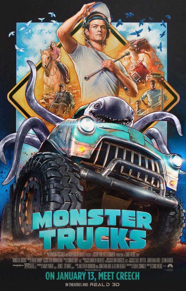 Monster Trucks – Designer: BLT Communications and Steven Chorney