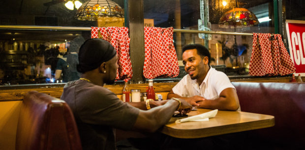 Moonlight - Trevante Rhodes and André Holland