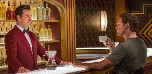 Passengers - Michael Sheen and Chris Pratt